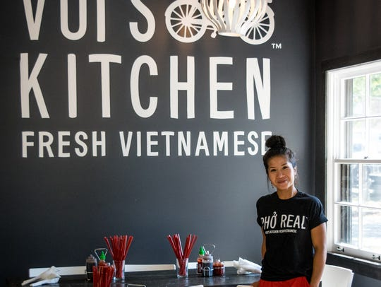 Vui Hunt, founder/chef of Vui's Kitchen and I Love