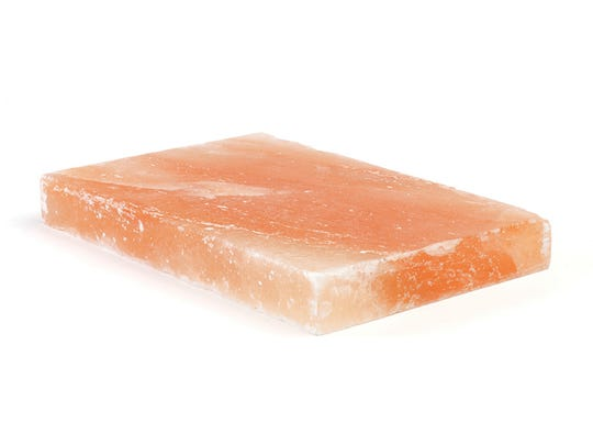 Bed Bath & Beyond carries a Himalayan Salt Collection for the grill featuring a salt block, plate holder and salt block cleaning brush. These items are a fun way to add subtle flavor to the menu without oversaturating the taste.