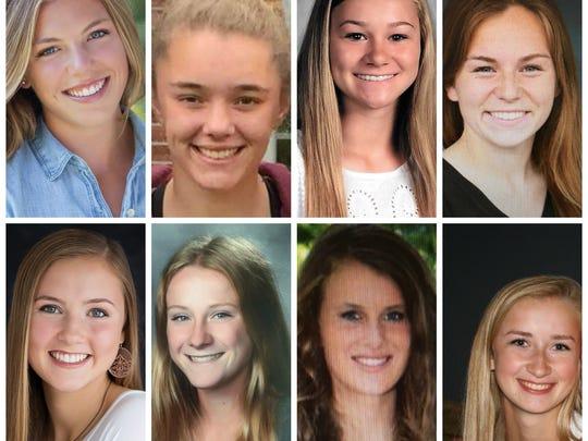 Meet eight of the 16 Lansing State Journal girls soccer