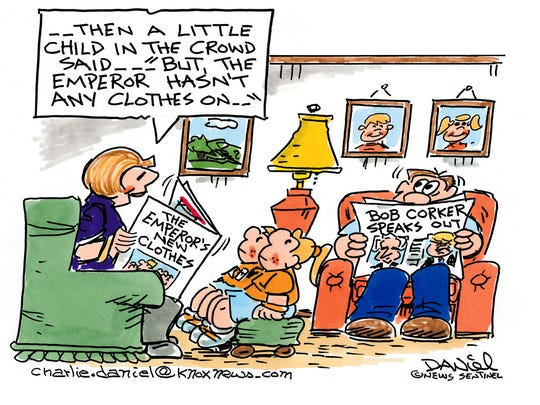 Charlie Daniel cartoon for Oct. 11, 2017