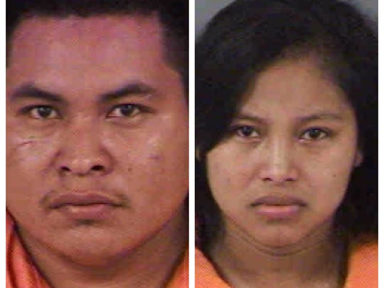 Juan Lopez-Ramos and Etelvina Lopez-Ramirez were arrested