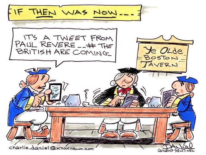 Charlie Daniel cartoon for Nov. 30, 2017