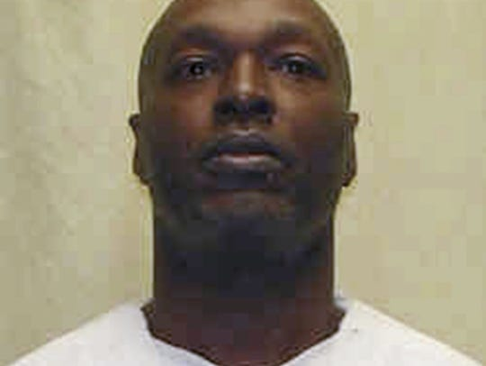 This undated file photo provided by the Ohio Department of Rehabilitation and Correction shows death row inmate Romell Broom, whose 2009 botched execution was called off after two hours.