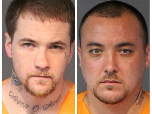 7-Eleven robbery Connor Woods and Michael Miller mugshot photos