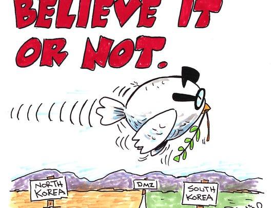 Charlie Daniel cartoon for April 30, 2018
