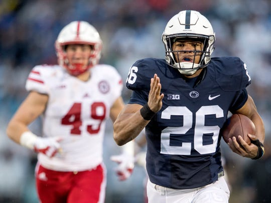 Saquon Barkley rushed for 1,134 yards and 16 touchdowns