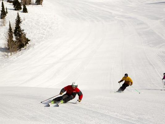 Skiing-Jackson Hole