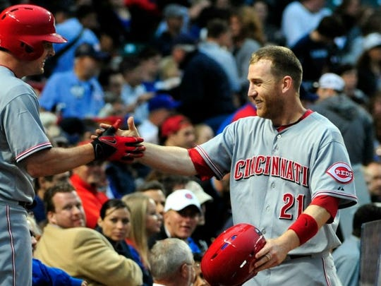 Cincinnati Reds third baseman Todd Frazier led NL third basemen in almost every category.