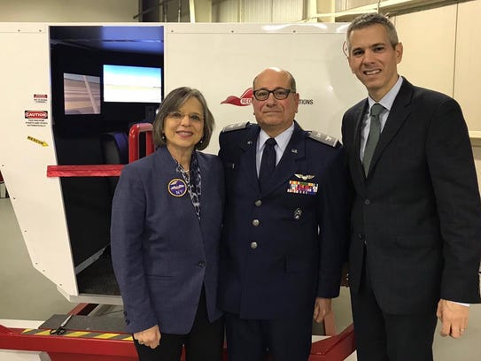 The New York Wing of Civil Air Patrol debuted its newly