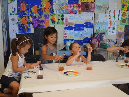 Summer Art Camps are underway at The Center for Contemporary