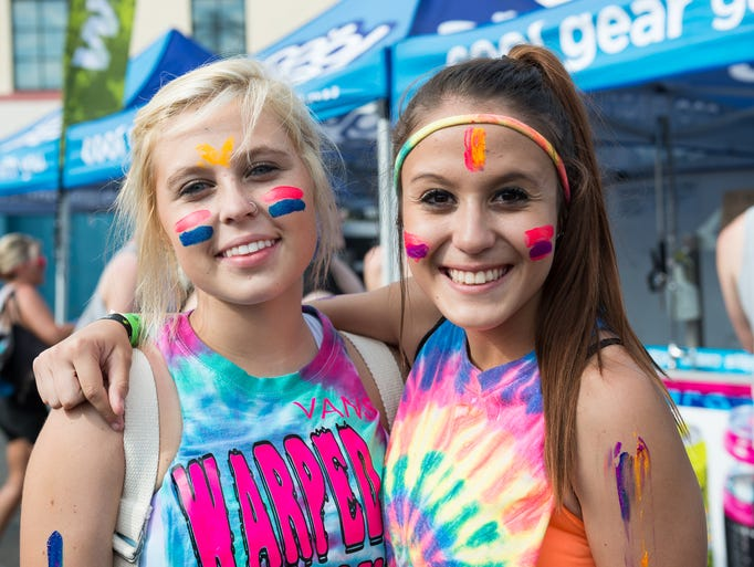 Karlie Lujan and Kaitlin Hodson at Riverbend for Warped Tour on July 16th, 2014.