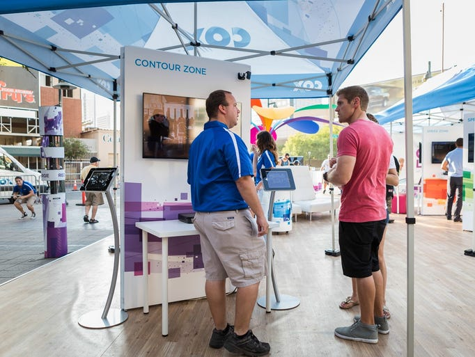 Consumers who want to get familiar with gigabit Internet service can check out the Gig Life Experience exhibit at Chase Field Plaza through August 10.