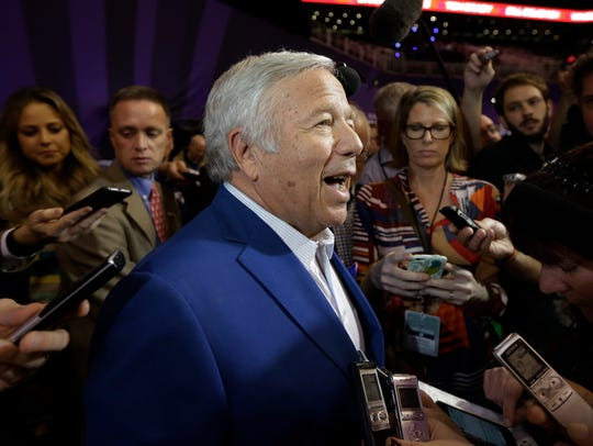 Patriots owner Robert Kraft issued an apology Saturday.