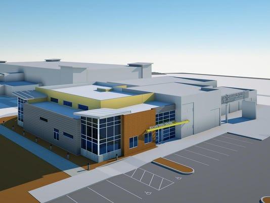 BGCWN Teen Center front