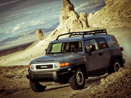 2011 FJ Cruiser. The J.D. Power Vehicle Dependability Survey this week reminded us of good cars they don't make any more.
