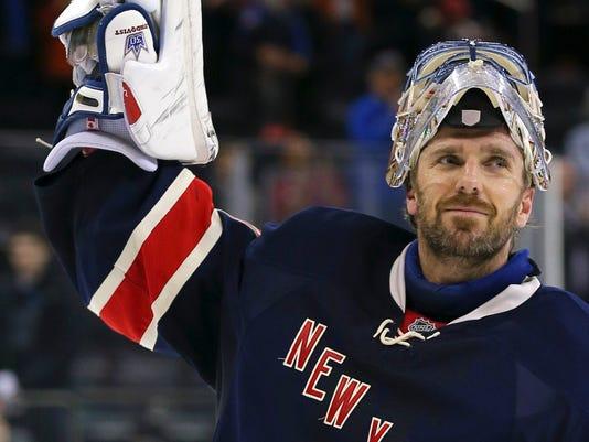 Henrik Lundqvist Rangers 300th victory