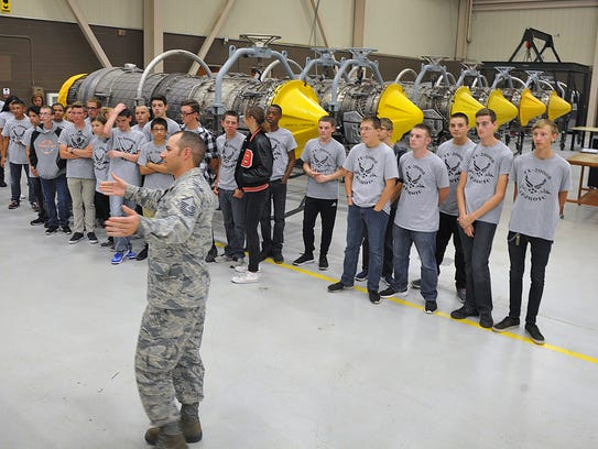 Master Sgt. Brian Kiser talks about the jet propulsion