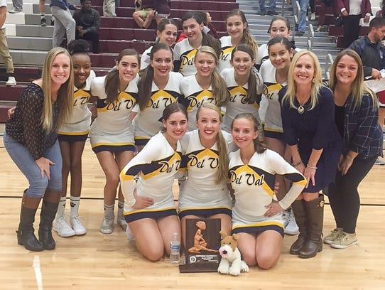 Delaware Valley High School's cheerleading coach Noreen