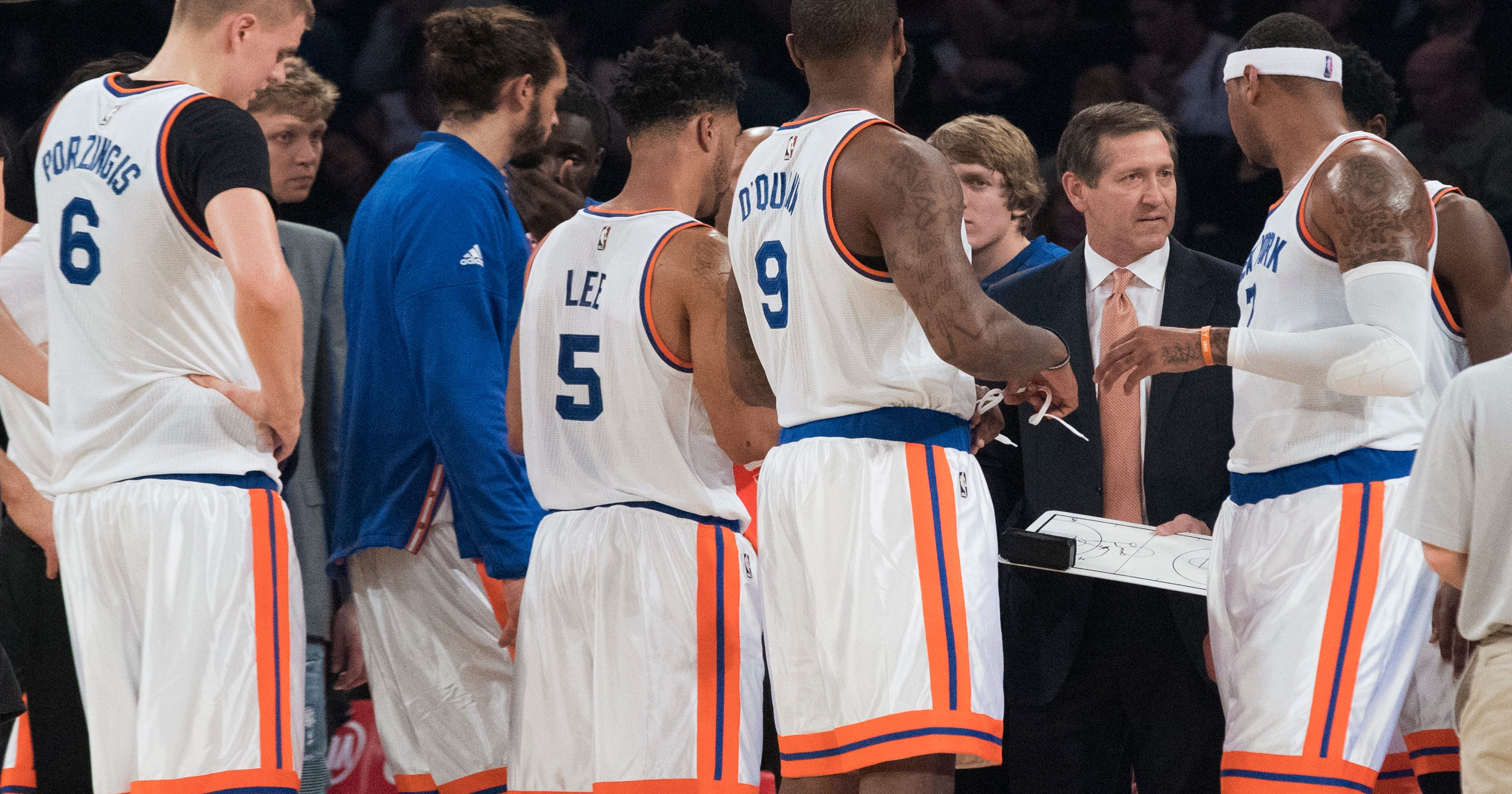 free shipping 7f73c 8d0e0 Knicks coach Jeff Hornacek able to do it his way