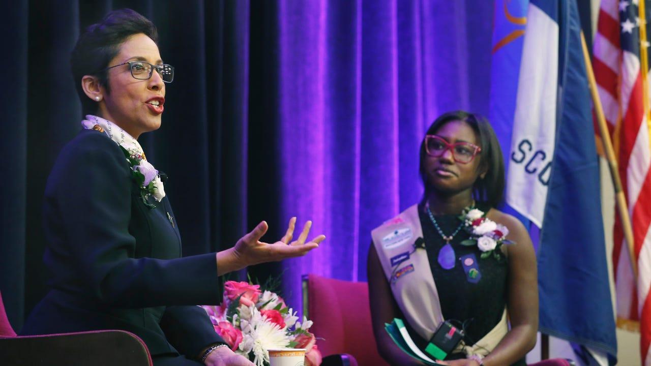 Anna Maria Chavez speaks on a new era of empowering women.