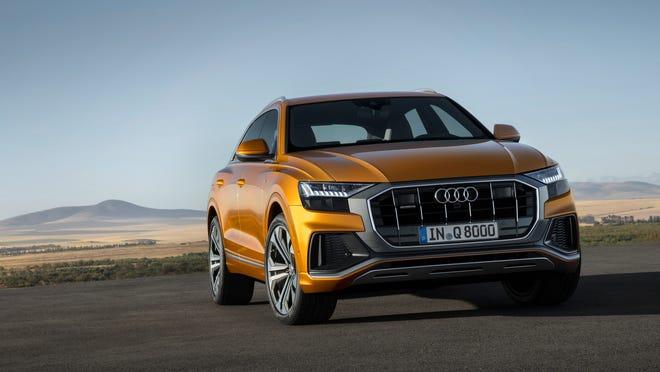 Audi Q8 Revealed Luxury Brand Reveals New Suv
