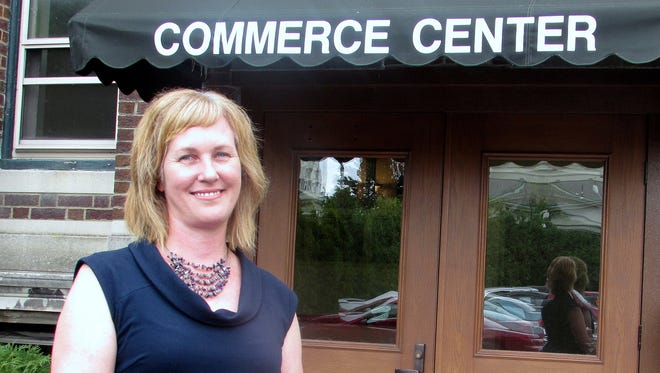 Kamala Keeley is the second Keeley to run the Chemung County Chamber of Commerce.