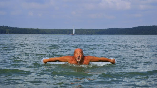 One way to use proper caution around water is to know your level of swimming skills.
