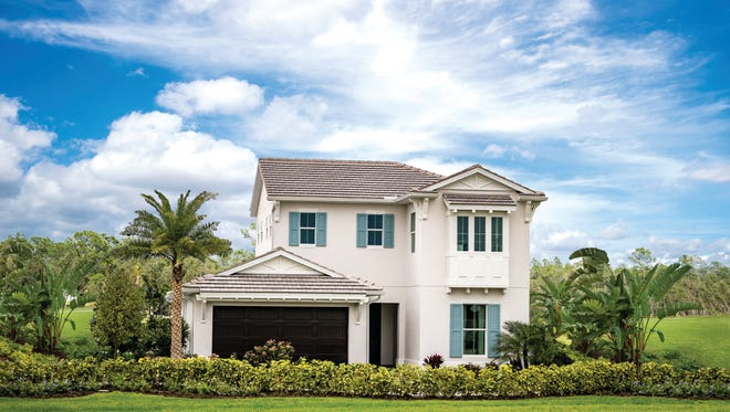 Estate Collection home sites are now available at Azure at Hacienda Lakes.