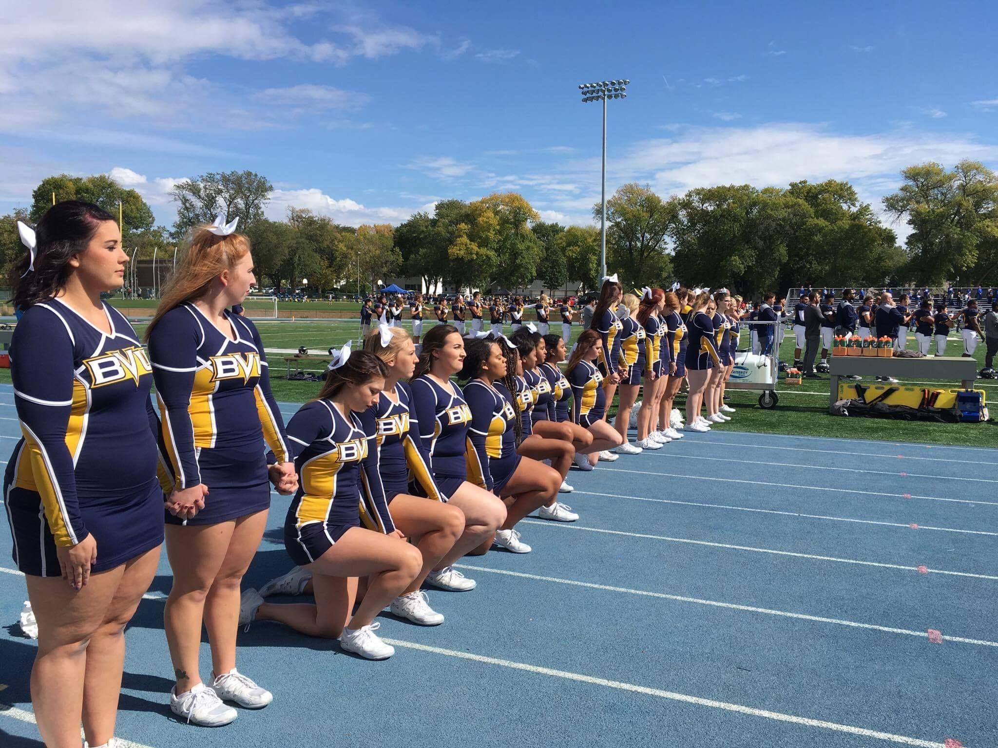 Chubby cheerleader pics