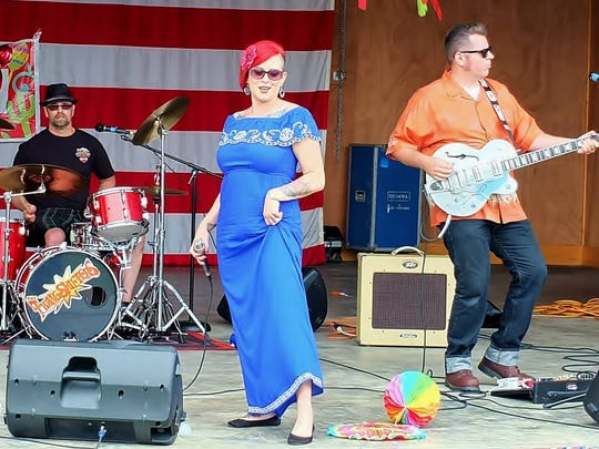 Portland rockabilly band the Twangshifters are playing the River's Edge Summer Series  7:30 p.m. tonight at Riverview Amphitheater, 50 C St., Independence