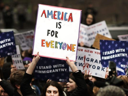 Immigration protest 1
