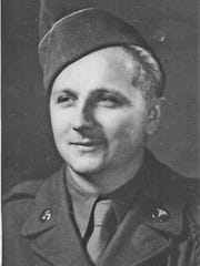 "Travis ""Bunky"" McFee served in the Army during World War II and was among the first medical personnel to land at Normandy on D-Day."