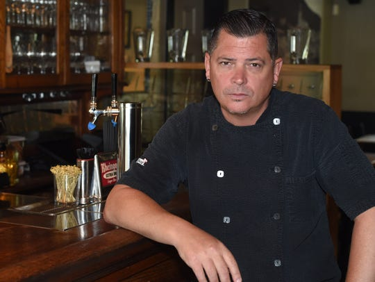 Wes Dier, owner and chef at The Local Restaurant in
