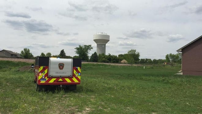 Sioux Falls Fire Rescue put out a grass fire in southeastern Sioux Falls on Friday.
