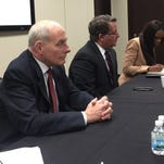 Arab, Latino leaders have tense meetings with Homeland Security chief