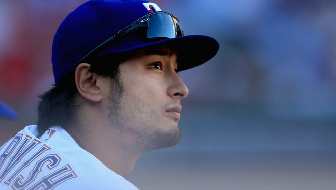 Yu Darvish has a 3.42 ERA in five MLB seasons with the Rangers and Dodgers.