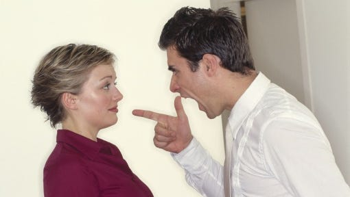 Her brother-in-law's tirades have her feeling shocked and uncomfortable when visiting her sister.