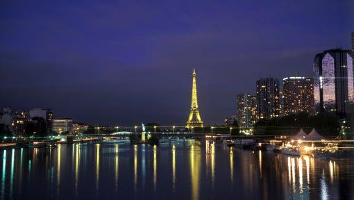 Paris city view