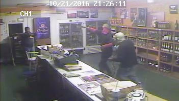 Hattiesburg police are looking for two men who allegedly robbed Edwards Street Package Store.
