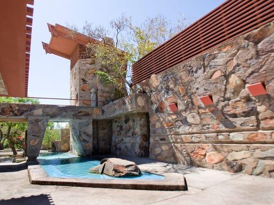Exterior of Taliesin West in Scottsdale