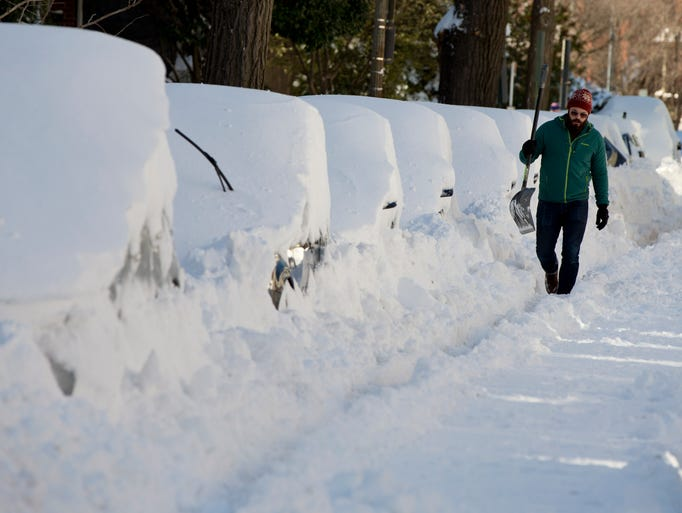 Winter Storm Wallops Eastern Usa