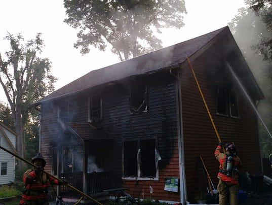 Cigar, mattress ignite blaze in Poughkeepsie