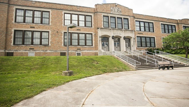 The York City School District Superintendent announced a proposal to re-open the Edgar Fahs Smith School building, pictured, to be a modified STEM academy. Amanda J. Cain photo