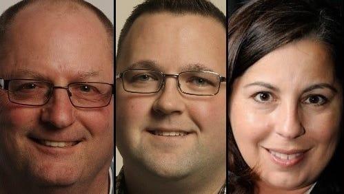 Steve Herman, Matt Mugerauer and Lori Palmeri