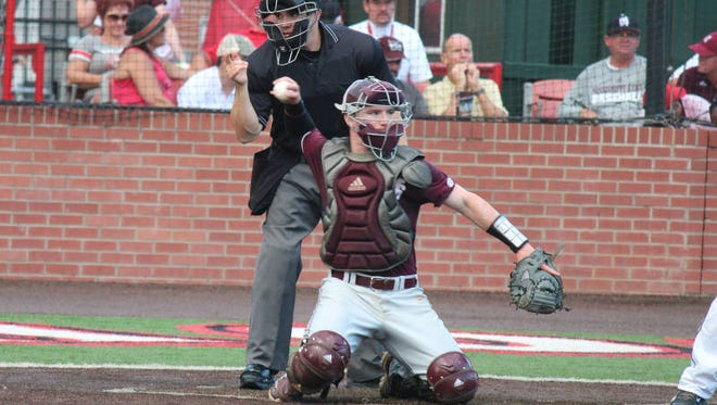 Mississippi State catcher Gavin Collins was named preseason first-team all-SEC on Thursday by the conferences coaches.