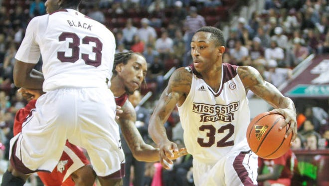 Mississippi State guard Craig Sword leads his team into the final three games of the regular season.