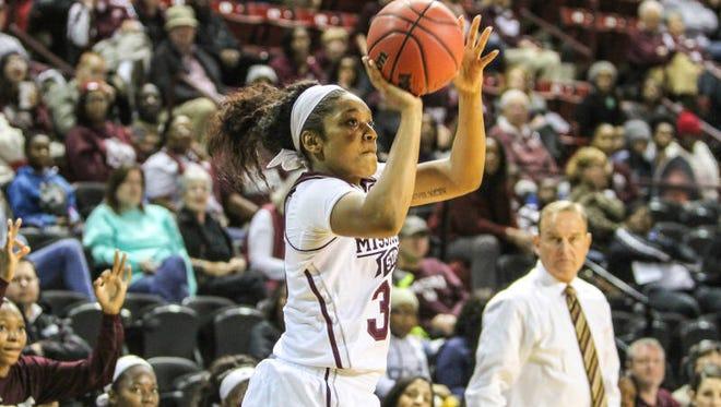 Mississippi State freshman Victoria Vivians scored 19 points against Kentucky.