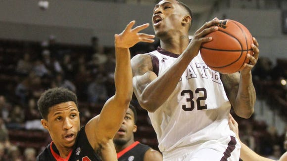 Mississippi State junior Craig Sword earned second-team All-SEC honors on Tuesday.