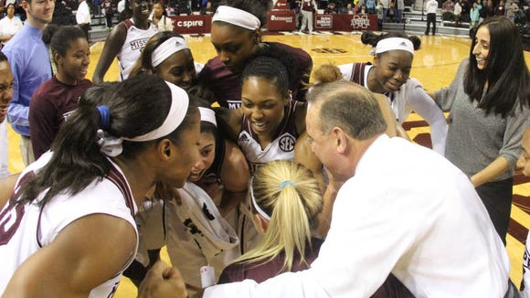 Mississippi State coach Vic Schaefer and his team advanced to the second round of the NCAA Tournament with a win on Friday.