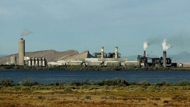 The Four Corners Power Plant is shown in this file photo.